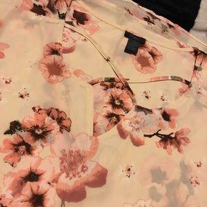 Rue21 plus 2x floral shirt
